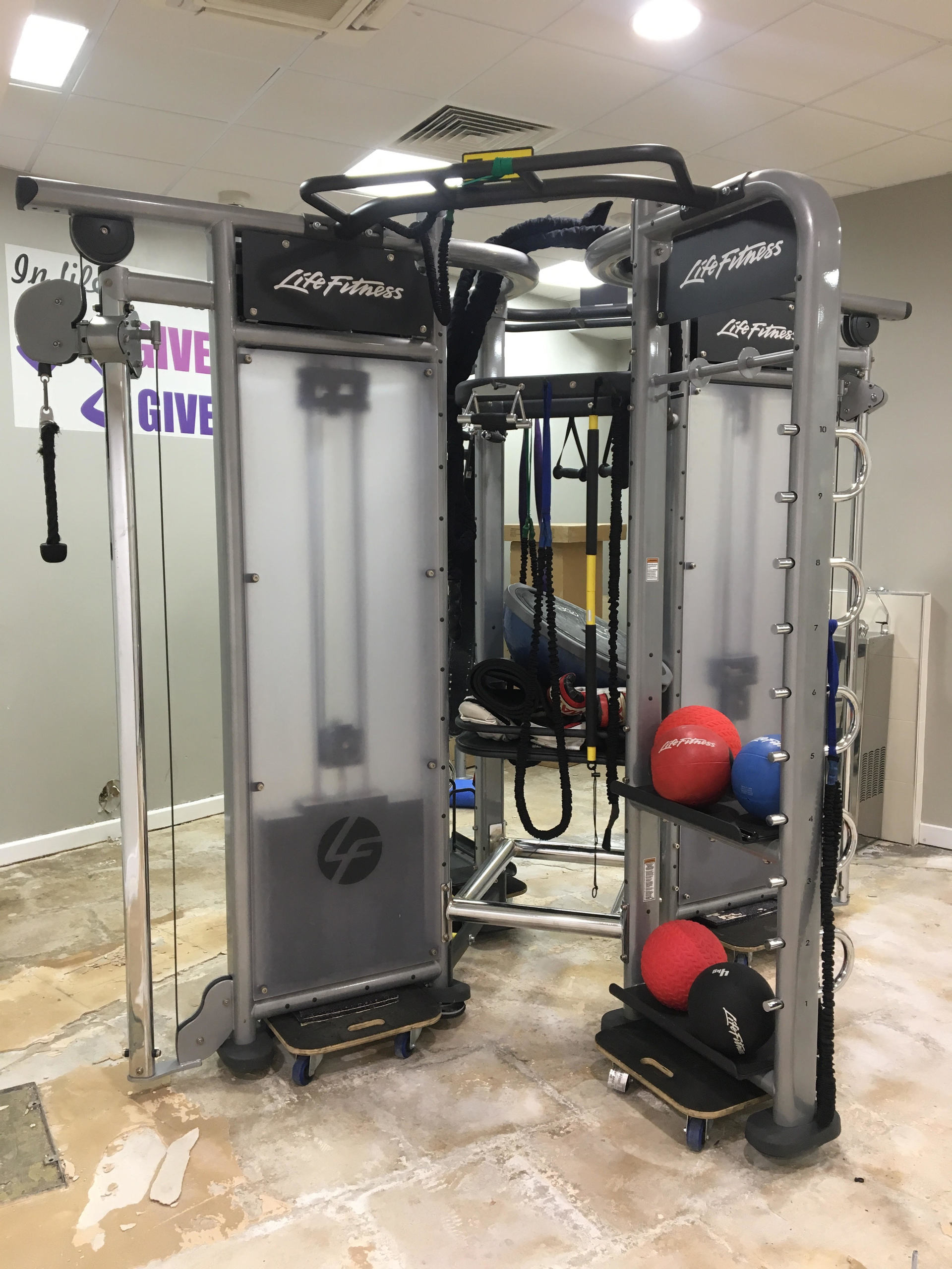 Life Fitness Synrgy 360 4 Sided Functional Training Rig Total Gym Solutions