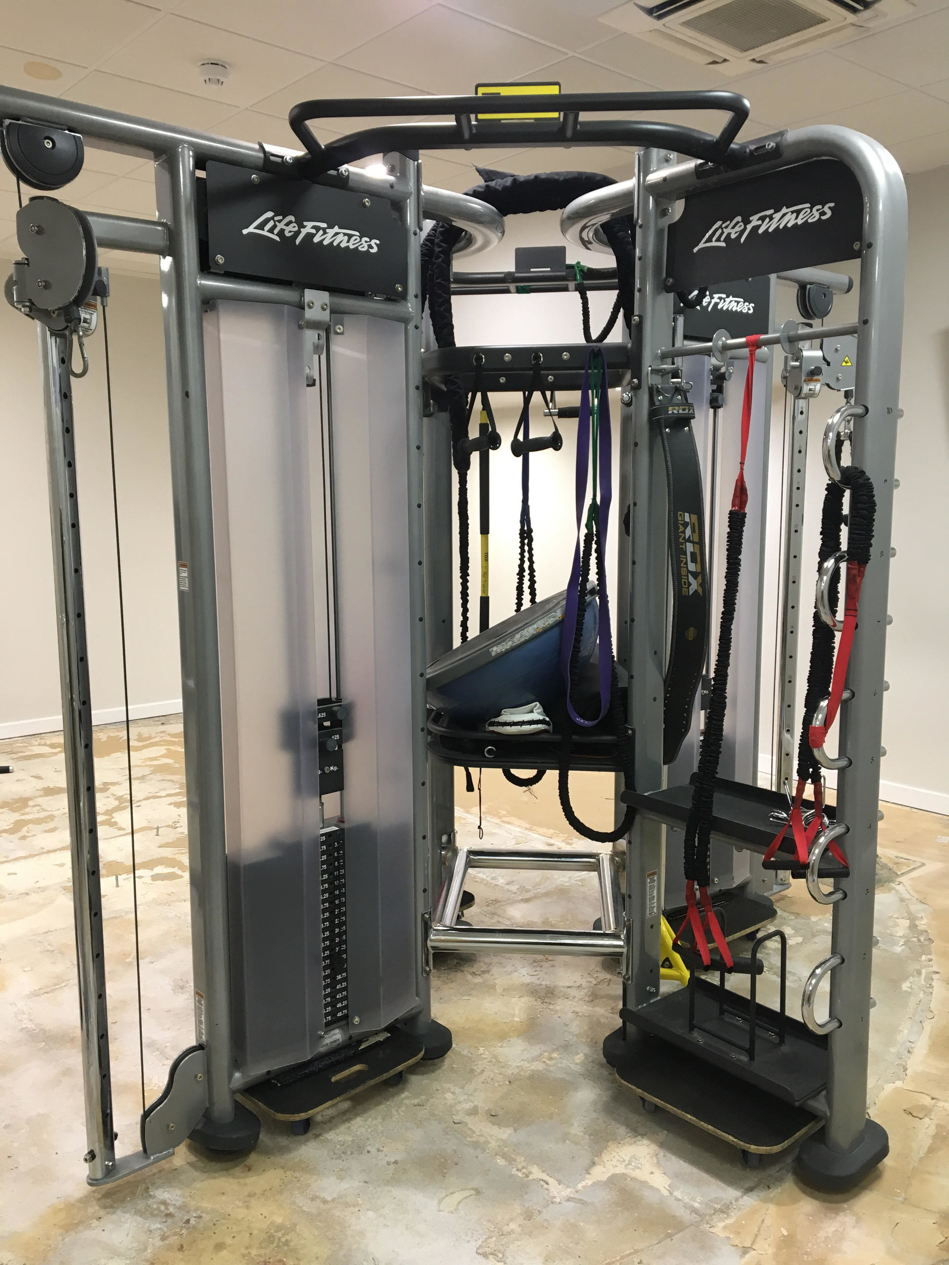 Life Fitness Synrgy 360 4 Sided Functional Training Rig